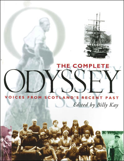 Odyssey book Cover | Billy Kay | Odyssey Productions